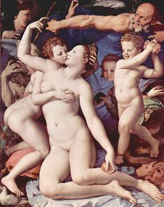 Bronzinio, An Allegory of Venus and Cupid, 1540-1545