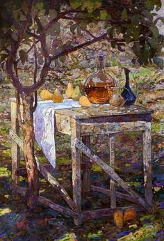"""Pear Garden"" by Denis Sarazhin"