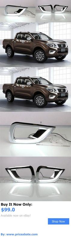 Motors Parts And Accessories: 2X White Led Drl Daytime Fog Light Run Lamp For Nissan Navara Np300 2015-2016 BUY IT NOW ONLY: $99.0 #priceabateMotorsPartsAndAccessories OR #priceabate