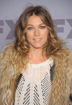 Natalie Zea Long Curls