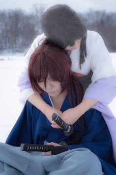 Rurouni Kenshin - Kenshin & Tomoe - Cosplay (published by Aoi on Cure WorldCosplay)