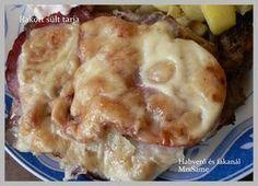 Habverő és fakanál: Rakott sült tarja Apple Pie, Food, Essen, Meals, Yemek, Apple Pie Cake, Eten, Apple Pies