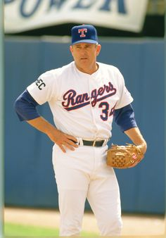 Texas Rangers Nolan Ryan - My daughter and I saw Nolan in his very last game.  He was playing in Seattle and threw his arm out against the Mariners.  I'm an avid Mariners' fan, but it was hard to watch a legend go down like that.