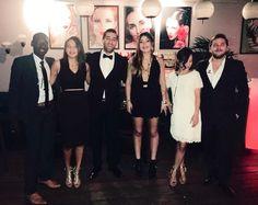 L'équipe du BDE WIBS, pendant le gala du 25 mars 2016.