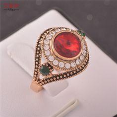 crystal diamond decoration ring