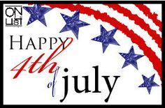 Happy Independence Day!  Enjoy your weekend :)  #4thofJuly
