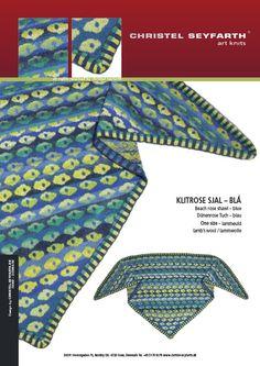 Christel Seyfarth   SHOWROOM   Unika strik I Sjaler   Frakker og Jakker   Fanøstrik – Slip farverne løs