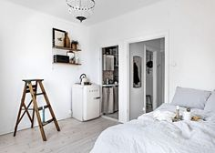 Stylish small studio | COCO LAPINE DESIGN | Bloglovin'