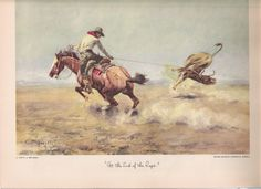 charlie russell paintings   1949 November Arizona Highways Charles Russell Painting   eBay