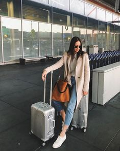 So happy we landed safely I could kiss the ground! Our plane passed through a . So happy w. Spring Outfits Japan, Japan Outfits, Paris Outfits, Japan Ootd, Japan Spring Outfit Travel, Japan Outfit Winter, Europe Travel Outfits, Travel Ootd, Winter Travel Outfit