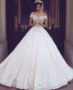 Wedding ballgown dress