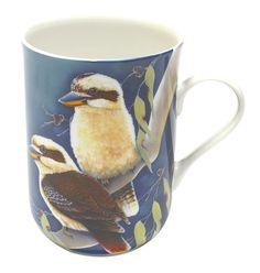Maxwell & Williams Birds of Australia Katherine Castle Mug 300ML Laughing Kookaburras Gift Boxed. #bird #mug #Australia