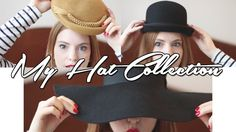 My Hat Collection - Vintage & New - Retro Sonja Fashion Blogger Video - www.retrosonja.com