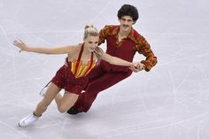 Piper Gilles and Paul Poirier of Canada compete in the Ice Dance Short Dance during ISU Four Continents Figure Skating Championships - Gangneung -Test Event For PyeongChang 2018 at Gangneung Ice Arena on February 16, 2017 in Gangneung, South Korea.