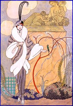 Fashion Design ~ by George Barbier