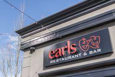Earls Restaurant Port Coquitlam City Restaurants, Tri Cities, Restaurant Bar