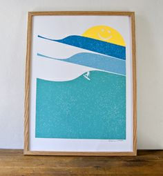 sunny surfing (LOVE most of this art)