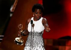 Beautiful speech by Viola Davis championing advancement and opportunity for colored women. She made history tonight, progress people- let's keep it rolling