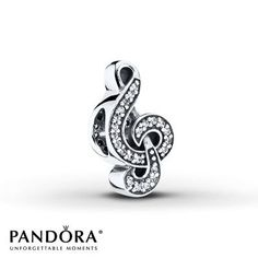 Pandora Charm Sweet Music Sterling Silver. My hubby got me this one before the Christmas Cantata last year.