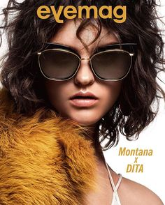 cf082430b20e4 The STORMY by DITA Eyewear featured on the cover of eyemag. Dita Shades,  Change