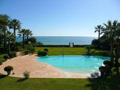 Magnificent Beachfront Villa - Villa, El Paraiso Barronal, Estepona Villa, Sea, Outdoor Decor, Home, Ad Home, The Ocean, Ocean, Homes, Fork