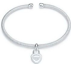 Return to Tiffany & Co Outlet Heart Lock Cuff $29.99