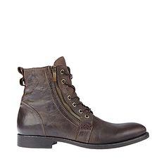 men's boots black | GUESS Cuzin Black Boots for Men | Gemini ...