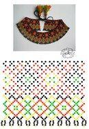 Фотографии Натали Ховалко Bead Crochet Patterns, Beading Patterns Free, Beading Tutorials, Diy Necklace Patterns, Beaded Jewelry Patterns, Native Beadwork, Beaded Crafts, Bead Weaving, Long Beaded Necklaces