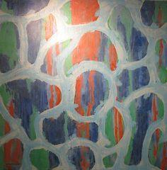Maleri Celler 100x100 cm