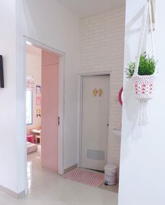 Small Home Remodel Designs Under 50 Square Meters - Di Home Design Girls Room Design, Home Room Design, Girl Bedroom Designs, Small House Design, Home Office Design, Home Interior Design, Beige Living Rooms, Small Living Rooms, Minimalist Home