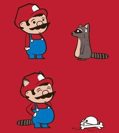 Is it sad that even when I was a vegetarian I would have thought this is funny? Good Jokes, Funny Jokes, Video Game Names, Racoon, Super Mario, Trending Memes, Geek Stuff, Lol, Comics