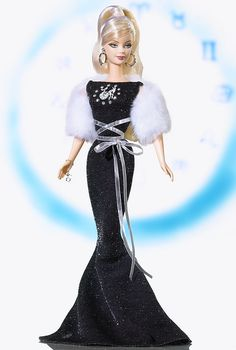 Capricorn Barbie Doll - Special Occasion - 2005 Zodiaz Doll Collection - Barbie Collector
