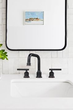 This black bathroom faucest has streamlined contemporary design. The aerated water Stream is perfect for Everyday Cleaning. It delivers up to 1.5 gallons per minute and the spout height, gives you ample clearance beneath as well. #Wowow #BlackBathroomFaucet Matte Black Bathroom Faucet, Modern Bathroom Faucets, Classic Bathroom, Bathroom Hardware, Bathroom Inspo, Scandinavian Bathroom Inspiration, Widespread Bathroom Faucet, Contemporary Design, Cleaning