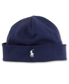 Ralph Lauren Baby Hat, Baby Boys Beanie