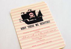 Pirate Girl invite
