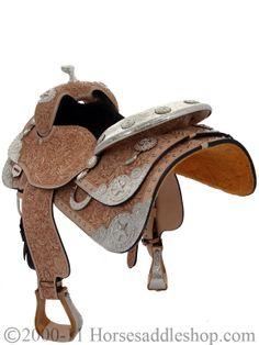 Silver Mesa Elite Show Saddle