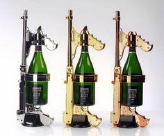 The Champagne Gun | DudeIWantThat.com