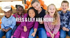 The sweetest video ever!!! Eric and Leslie Ludy welcome Rees and Lily home from Haiti! :)