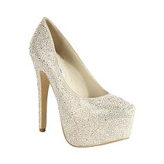 DEEVAA CHAMPAGNE MULTI women's dress high platform - Steve Madden
