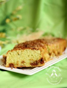 Another pandan cake, hope you are not getting tire of it, luckily my family and friends and coll. Orange Sponge Cake, Pandan Cake, Asian Desserts, Dim Sum, Salted Butter, Pound Cake, Banana Bread, Cake Recipes, Snacks