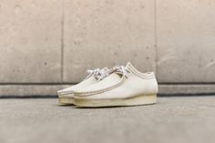 Clarks Wallabee Low - Off-White | Kith NYC