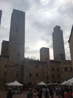 The old fashioned skyline of San Gimignano - by TravEllenineurope.com