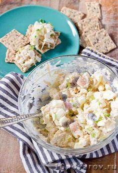 Царский салат из Магнита Vegan Egg Salad Recipe, Canned Chicken Salad Recipe, Can Chicken Recipes, Cookout Side Dishes, Barbecue Side Dishes, Brunch Dishes, Southern Chicken Salads, Barbecue Sides, Peruvian Cuisine