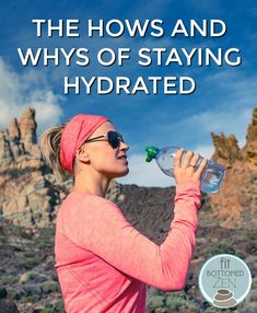 Why staying hydrated now is as important as it is in summer.