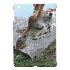 Inquisitive Giraffe iPad Mini Cover