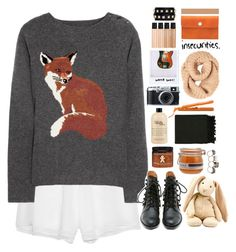 """""""☾ just tryna live life for the moment."""" by thundxrstorms ❤ liked on Polyvore featuring Prabal Gurung, Aubin & Wills, Matiko, philosophy, Polaroid, mark., FREDS at Barneys New York, Alexander McQueen, Surya and Ally Capellino"""