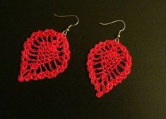 Earrings crochet free pattern crochet earrings crochet and free easycrochetearrings nothing like using up scrap yarn and threads but dt1010fo