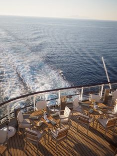 On board a luxury cruise ship, the MS Europa 2