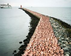 Spencer Tunick naked people art