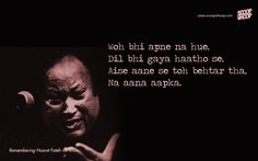 15 Nusrat Fateh Ali Khan Qawwalis That Are Sure To Give You Goosebumps Nfak Quotes, Sufi Quotes, Hindi Quotes On Life, Qoutes, Mood Quotes, Attitude Quotes, Poetry Hindi, Hindi Words, First Love Quotes